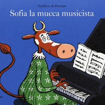"""09 Novembre 17.00 – Lettura animata e laboratorio creativo """"Sofia la mucca musicista"""""""