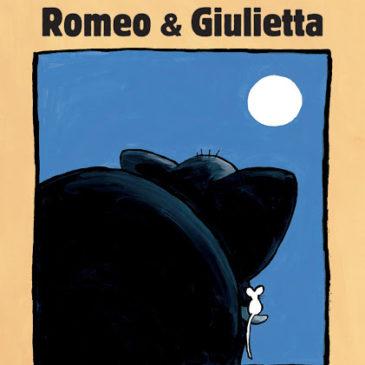 """20 Febbraio alle ore 10:30 replica il 22 e il 23 – Lettura e laboratorio creativo """"Romeo e Giulietta"""""""