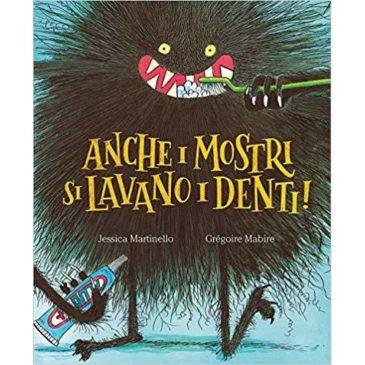 """1° Agosto alle ore 16:00 – Lettura e laboratorio creativo """"Anche i mostri si lavano i denti!"""""""