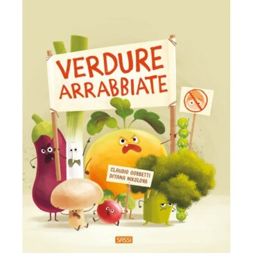 """3 Giugno alle ore 17 – Letture animate sotto il portico """"Verdure arrabbiate"""""""